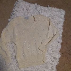 Vintage Nannell beaded sweater